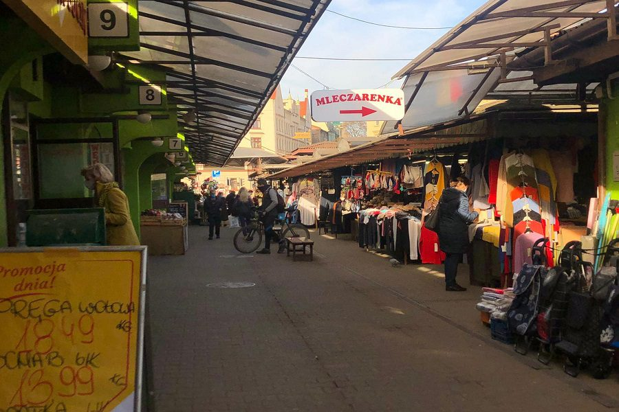 The best 4 local markets of Kraków